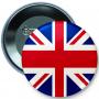 Bouton, épingle, drapeau de la Grande-Bretagne