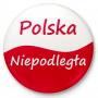 Bouton aimant de réfrigérateur Pologne Indépendant
