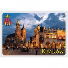 Postcard 3D Cracow Market Square