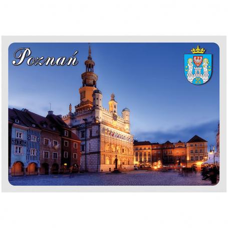 Carte postale 3D Mairie de Poznan