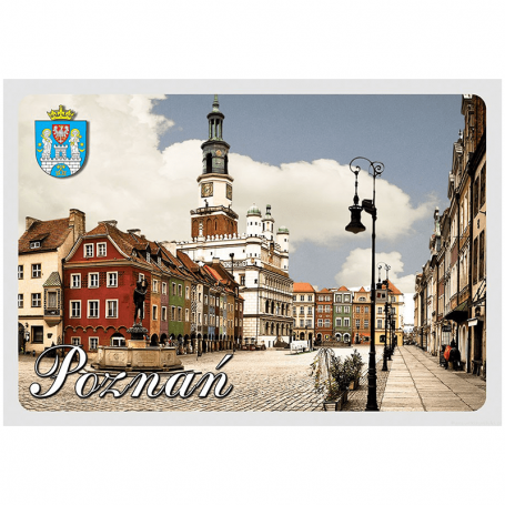 Carte postale 3D Poznan Market