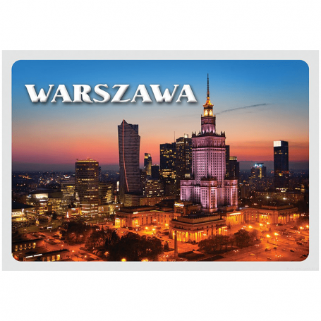 Carte postale 3D Warsaw Centre