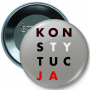 Badge a bouton, goupille CONSTITUTION
