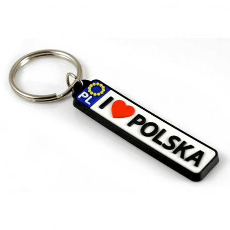 Brelok tablica rejestracyjna Polska