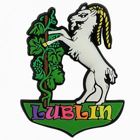 Magnet für einen Gummikühlschrank, Ziege Lublin