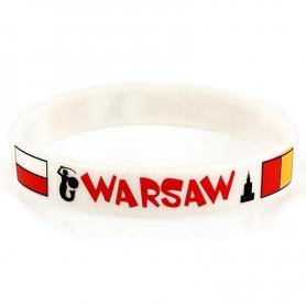Silicone bracelet Warsaw