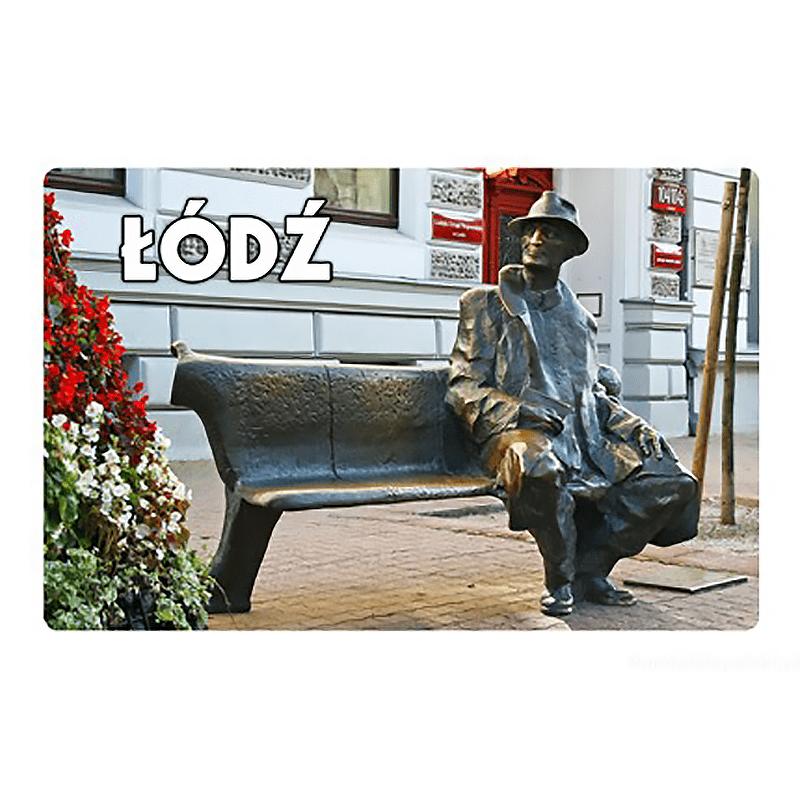 Aimant de réfrigérateur avec un effet 3D Łódź Tuwim