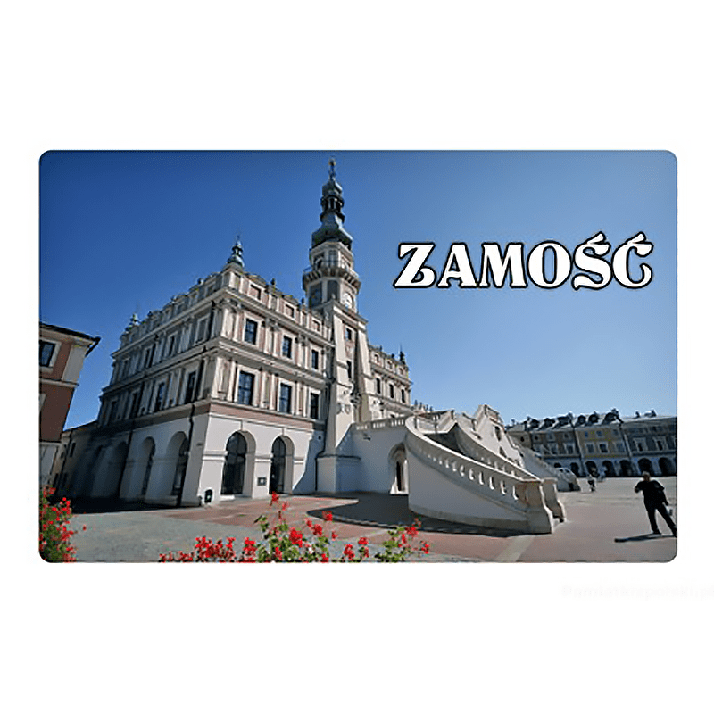Aimant avec un effet 3D Zamość mairie