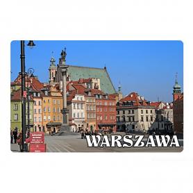 Kühlschrankmagnet 2D wechselnde Bilder - Warschau
