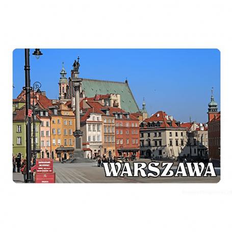 Aimant de réfrigérateur 2D images changeantes - Varsovie