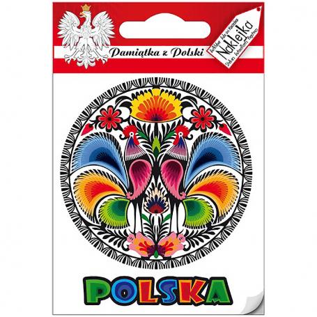 Naklejka pojedyncza Polska - wycinanka
