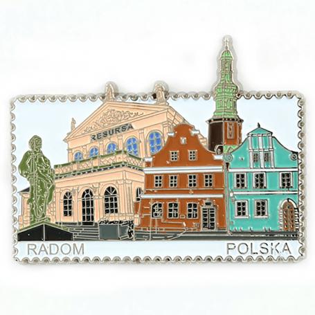 Imán de nevera - Stamp Radom