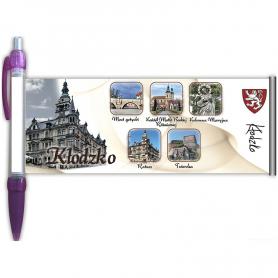 Długopis rozwijany Kłodzko