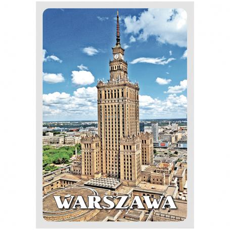 Pocztówka 3D Warszawa Pałac Kultury