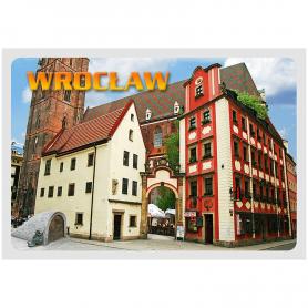 Postkarte 3D Wroclaw, Hänsel und Gretel
