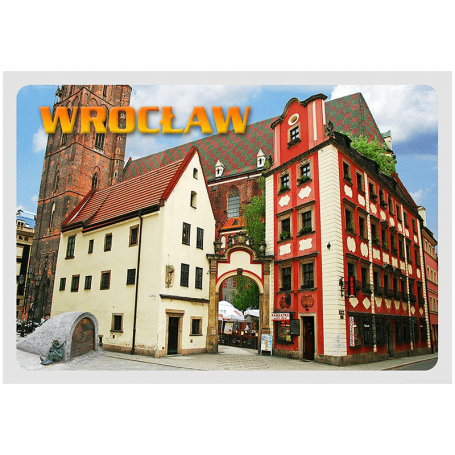 Carte postale 3D Wroclaw, Hansel et Gretel