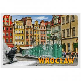 Pocztówka 3D Wrocław Rynek