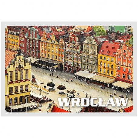 Carte postale 3D Wroclaw Market
