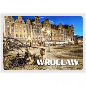Postkarte 3D Wroclaw Market