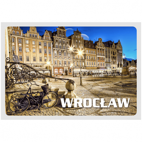 Tarjeta postal 3D Wroclaw Market
