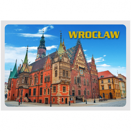 Carte postale 3D Wroclaw Ratusz