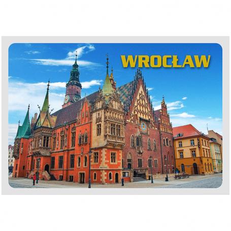 Pocztówka 3D Wrocław Ratusz