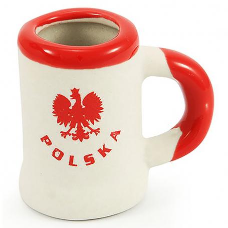 Taza simple de Polonia