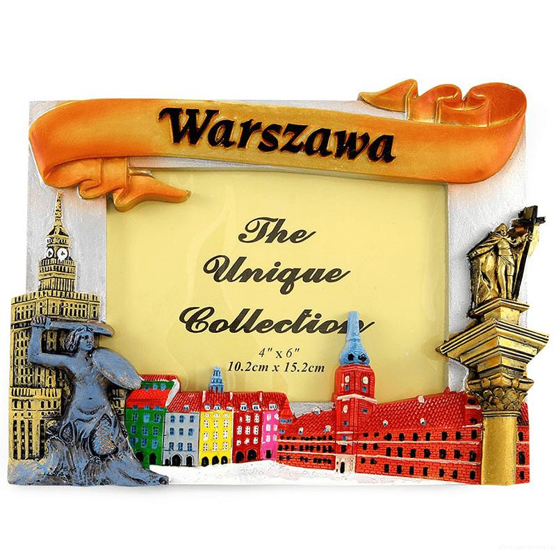 Cadre photo Varsovie