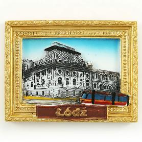 Magnes na lodówkę obraz Łódź Manufaktura