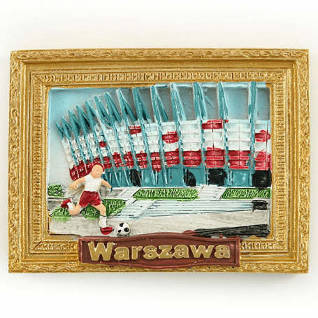 Imagen imán de nevera del Estadio Nacional de Varsovia