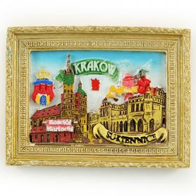 Magnes na lodówkę obraz Kraków Rynek