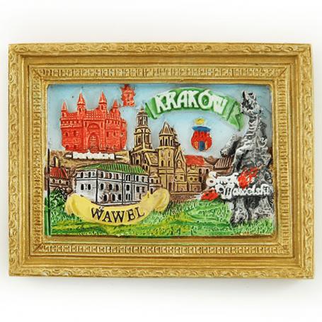 Magnes na lodówkę obraz Kraków Wawel