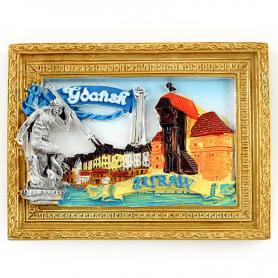 Fridge magnet picture of Gdansk