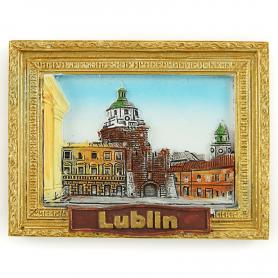 Fridge magnet picture Lublin Gate Krakowska