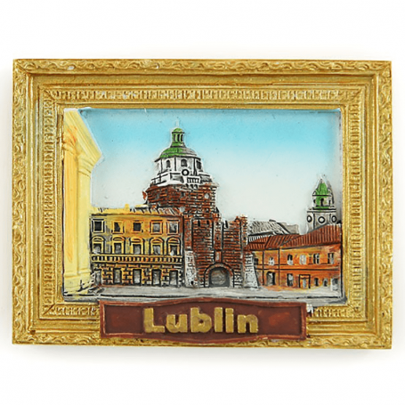Imán de nevera picture Lublin Gate Krakowska