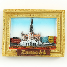 Fridge magnet picture Zamosc