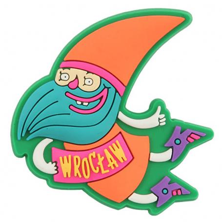 Imán de nevera Wroclaw - enano
