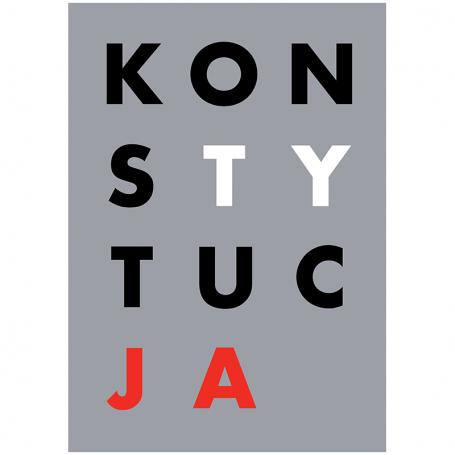 Plakat KONSTYTUCJA A3