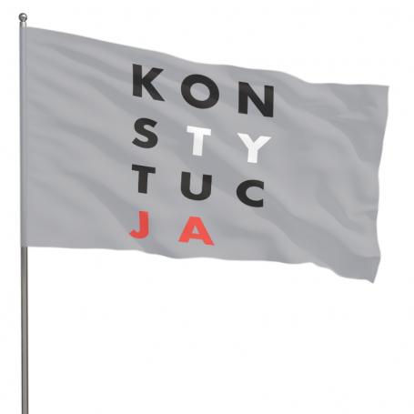 Flaga KONSTYTUCJA 70 x 110 cm