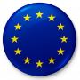 Bouton, drapeau de l'union européenne