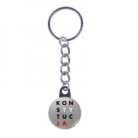 Key ring CONSTITUTION poster