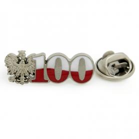 Przypinka, pin Stulecie Odzyskania Niepodległości