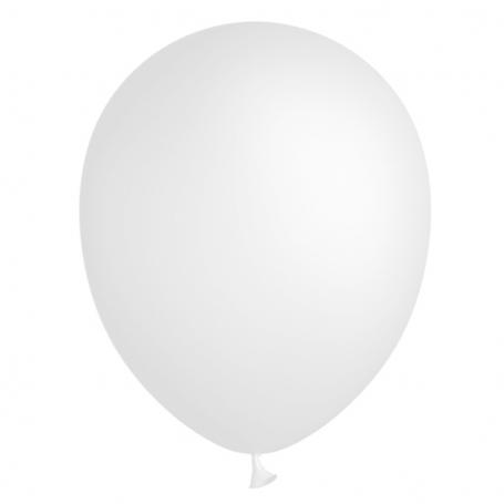 Globo blanco estándar 30 cm.