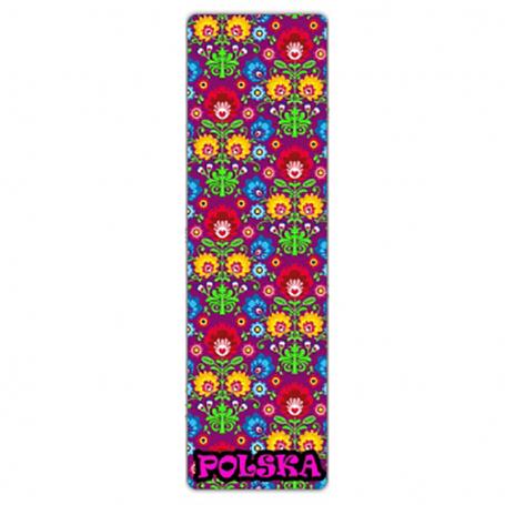 Zakładka 3D, Polska folk kwiatki