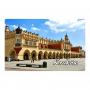 Réfrigérateur aimant 2D images changeantes de Cracovie