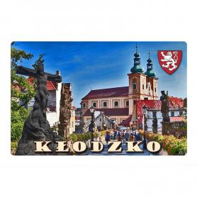 Fridge magnet with 3D effect Kłodzko
