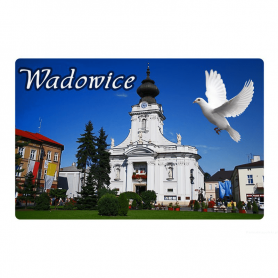 Fridge magnet with a 3D Wadowice effect