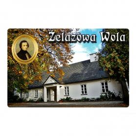 Fridge magnet with 3D effect Żelazowa Wola