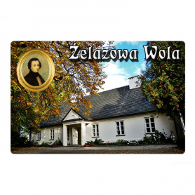 Kühlschrankmagnet mit 3D-Effekt Żelazowa Wola