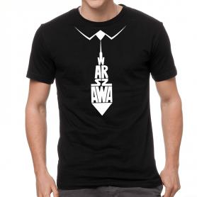 Koszulka Warszawa, krawat